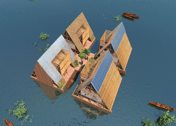 NLÉ's Makoko Floating School on a Nigerian lagoon