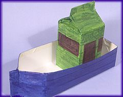Recycled Crafts - Make a Boat to Float