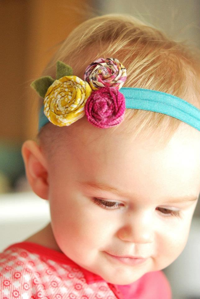 how to make handmade baby headbands