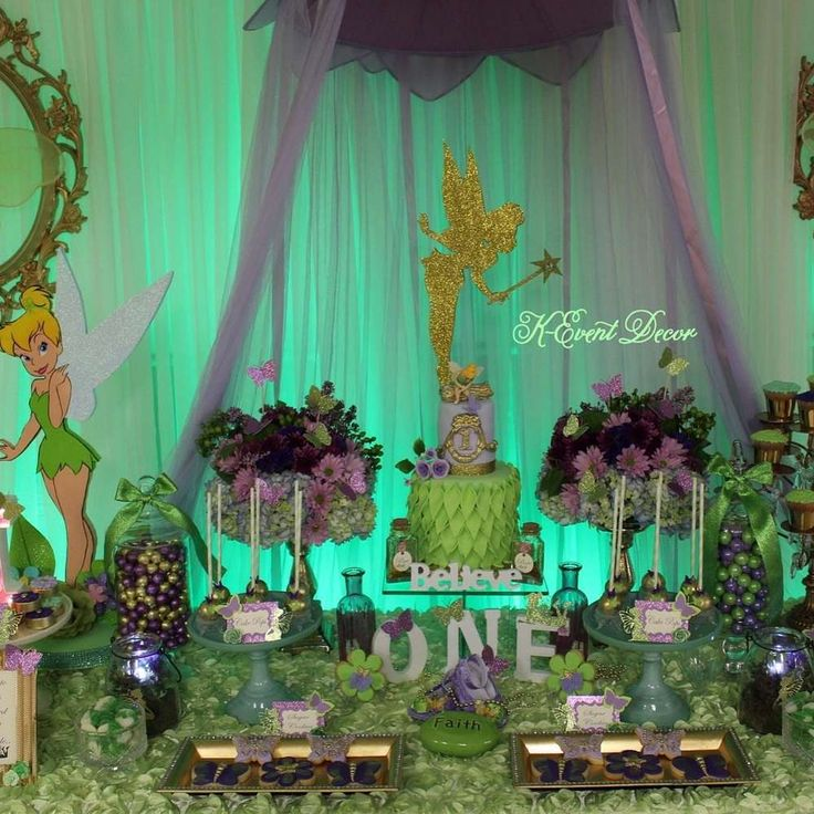 410 best tinkerbell party images on Pinterest Tinkerbell party