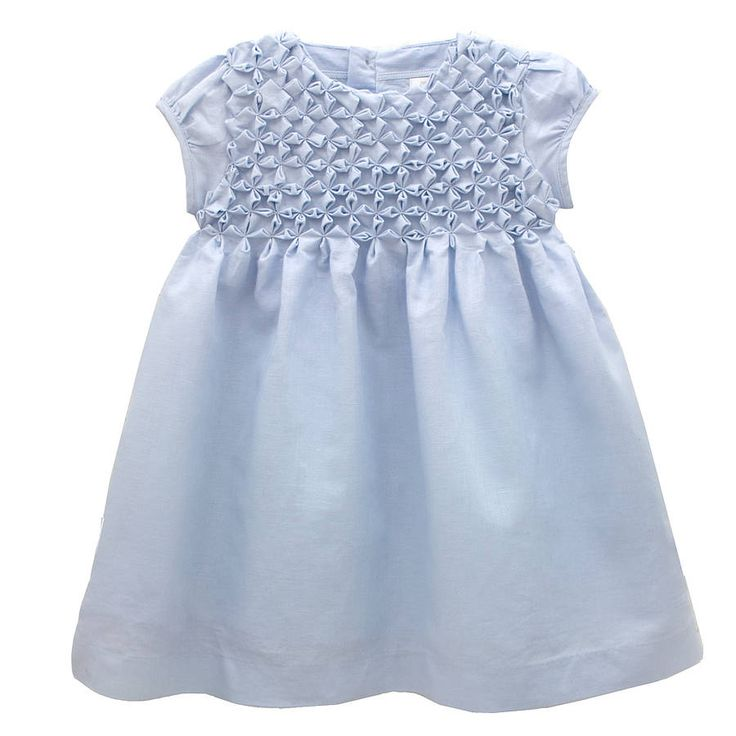 Canadian smocking on clothes baby or toddler dress