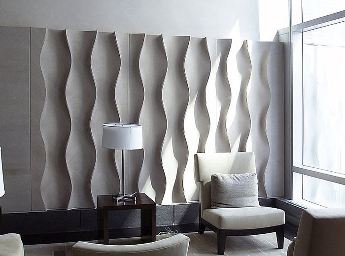 fabric wall designs. Decorative limestone wall panel  DESIGN 306 by Phillip Koether Erwin Hauer Studios 8 best Finishes images on Pinterest Wall cladding design and