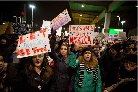 Donald Trump's controversial immigration policy has suffered a setback following a court order m...