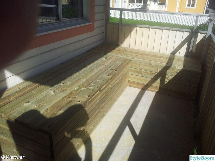 Bygga soffa på balkong  - Hemma hos watcher