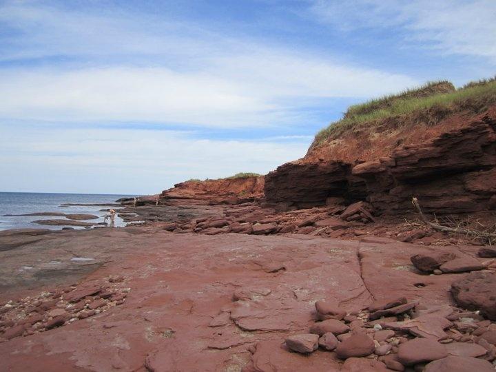 Red Cliffs at Cavendish PEI Canada
