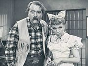 The Red Skelton Show   Red Skelton as Deadeye with actress Terry Moore, 1959-
