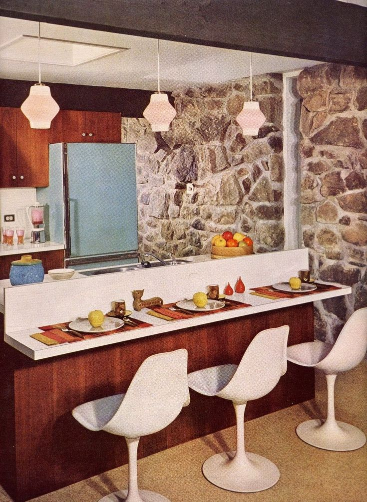 50 The Best Retro Kitchen Design And Decor Ideas To Get Mid Century Accent