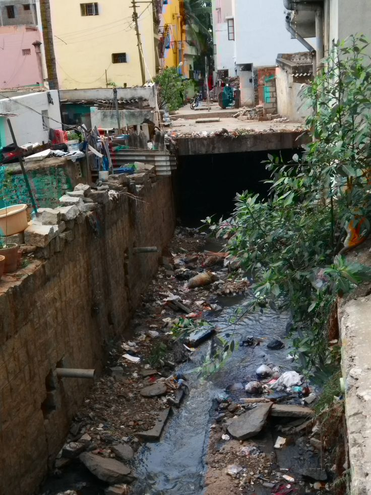 """#Bangalore #NandiniLayout """"Sewage and storm water drains (at 'B' Block, Vijayananda nagar, Nandini Layout) is closed partially from top(slab). It smells very badly and too much of Mosquitos because of open drains. According to the records drain is completely covered with slab but contractor has not completed the work."""" - Srinivas. Click on the link to VOTE UP Srinivas' complaint to get the issue resolved faster: http://bit.ly/1pOFv4V"""