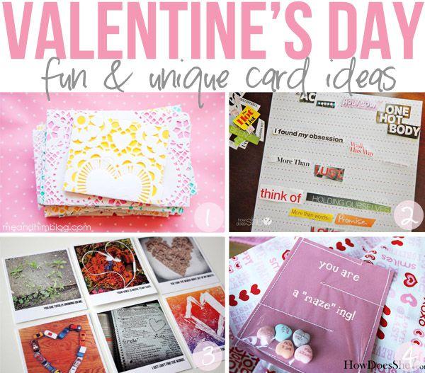 VDay Card Ideas with Heart