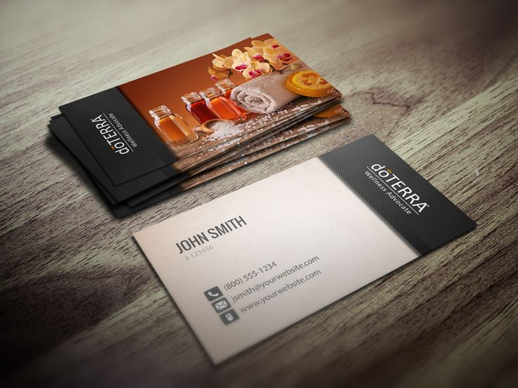 Doterra Business Card Elitadearest