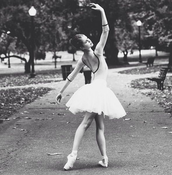 ballet in the park - I looked like this once.