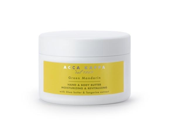 Acca Kappa  Green Mandarin  Hand & Body Butter  http://www.accakappa.com/it/c/3/corpo.html