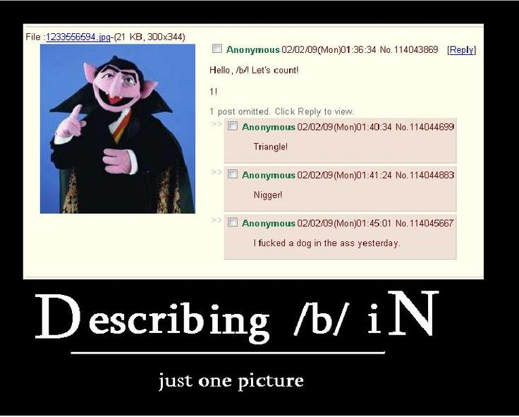 #4chan /b/ This pretty much sums it up..