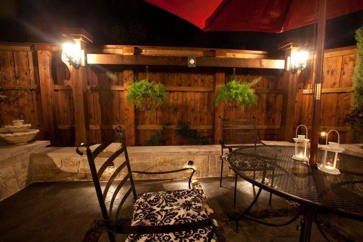 Outdoor lighting at its best! By Outdoor Signature in Argyle, TX.
