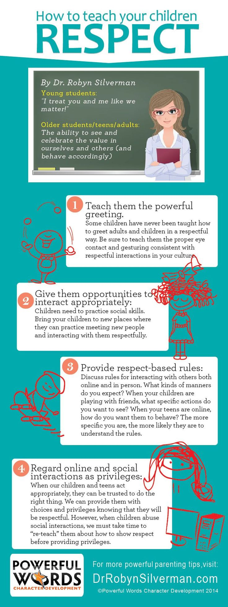 17 best ideas about teaching kids respect teaching how to teach your children respect dr robyn silverman powerful words drrobyn