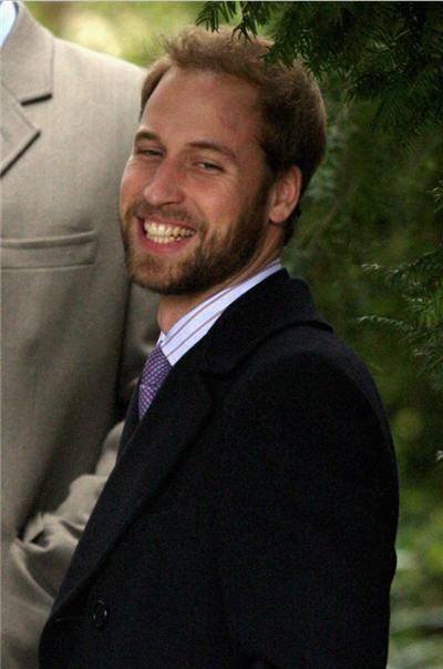 Prince William with a beard! We love it! thats the kind of guy you could have a cuppa tea with.