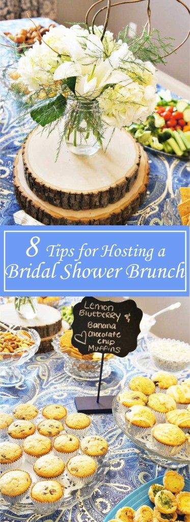 8 Tips for Hosting a Bridal Shower Brunch   www.ourmessytable.com