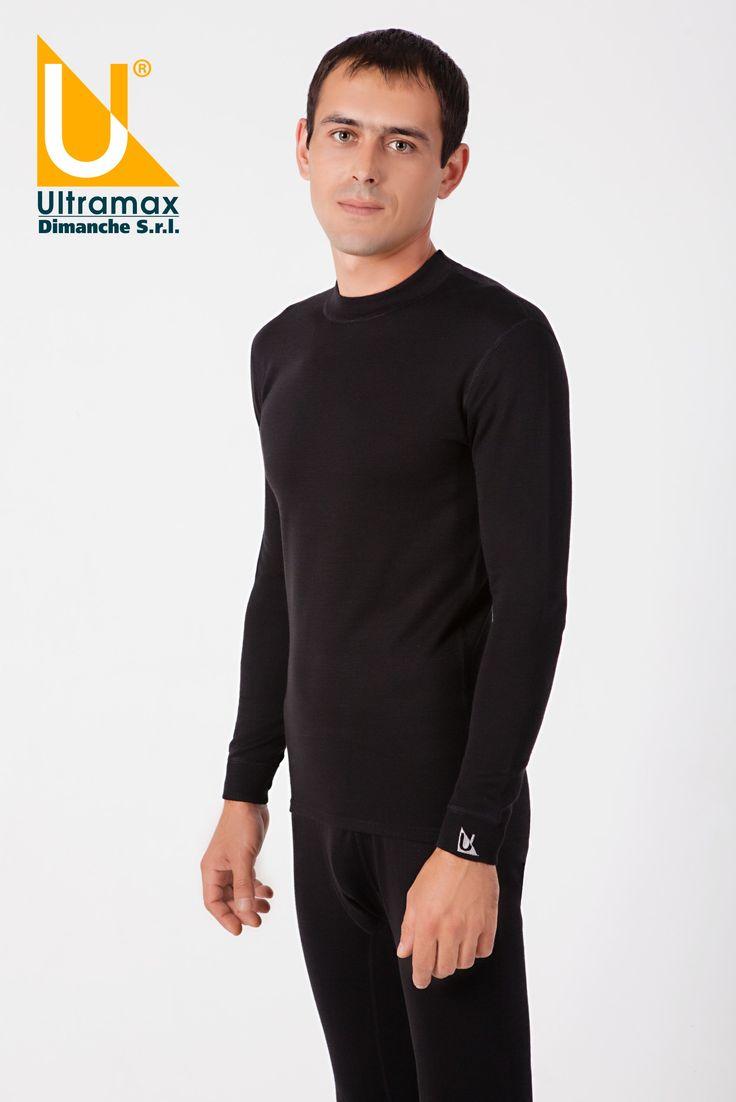 #thermals #ultramax #ultramaxthermals #barracuda #winter #man #cold   Мужской комплект: футболка с длинным рукавом, круглый вырез, эластичные манжеты, плоские швы. Длинные кальсоны, открытая мягкая резинка, эластичные манжеты, плоские швы.  Состав: внутренний слой: 100 % хлопок;  средний слой: 100% Prolen®; внешний слой: 100% шерсть мериноса обработки Super Wash.