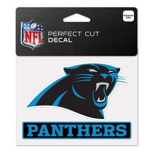NFL Carolina Panthers Perfect Cut Decal 4.5x5.75 – 460 Sports
