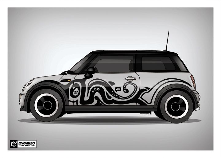I Actually Realllly Dig These Graphics Coopers Pinterest - Custom design car decals free