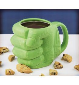Marvel Comics 3D hrnček Shaped Hulk Fist www.comicsuniverse.sk #comcis #hulk #mug #marvelcomics #marvel #fashion