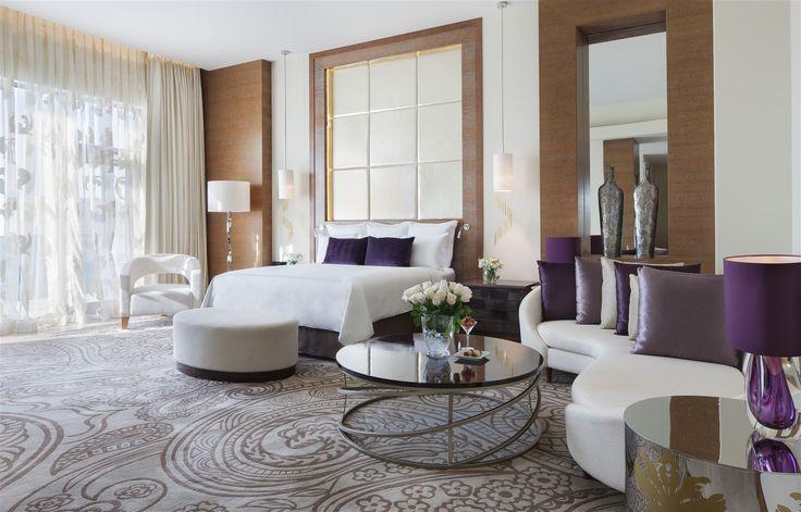 JW Marriot Baku, Azerbaijan. #hotel bed #room #stylish #lighting #interior #design #lamps