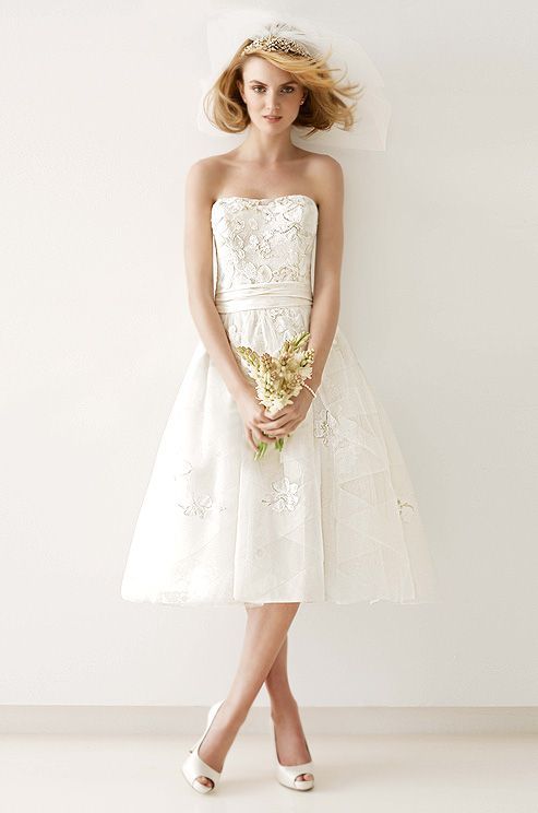 116 besten Short wedding dresses Bilder auf Pinterest ...