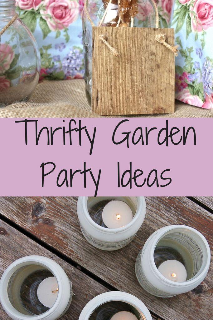 Thrifty Garden Party Ideas: Tuesday Tutorials - Crafts on Sea