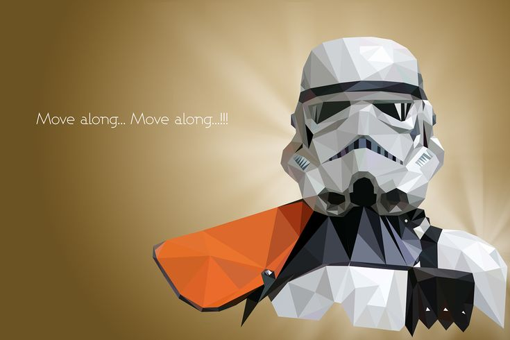 Star Wars - Low Poly Portraits Created byVladan... | TieFighters