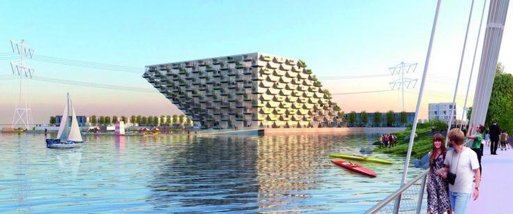 Het project Sluishuis kent een omvang van zo'n 46.000 m2 en bestaat uit circa 380 energieneutrale appartementen, circa 4.000 m2 aan commerciële en/of gemeenschappelijke ruimten, zo'n 240 ondergrondse parkeerplaatsen en een hoogwaardig waterprogramma met plek voor ongeveer 30 varende woonschepen.