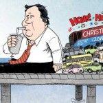 2014 Political Cartoons - NJ Gov. Chris Christie Bridgegate Scandal