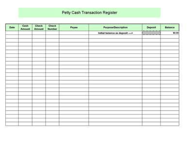 petty cash log preview 2