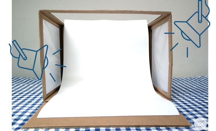Cómo hacer un estudio fotográfico casero