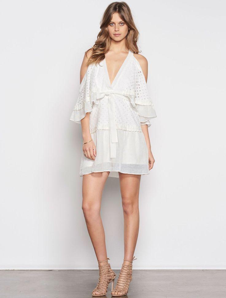 Stevie May - Inhale Broidery Mini Dress
