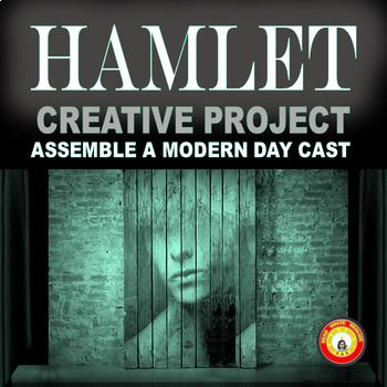 This Hamlet activity requires students to first provide photographs from the internet or print sources to depict the main characters introduced in Act 1 of Hamlet. They must write an essay discussing their choice. Students are then required to locate photos of modern movie or