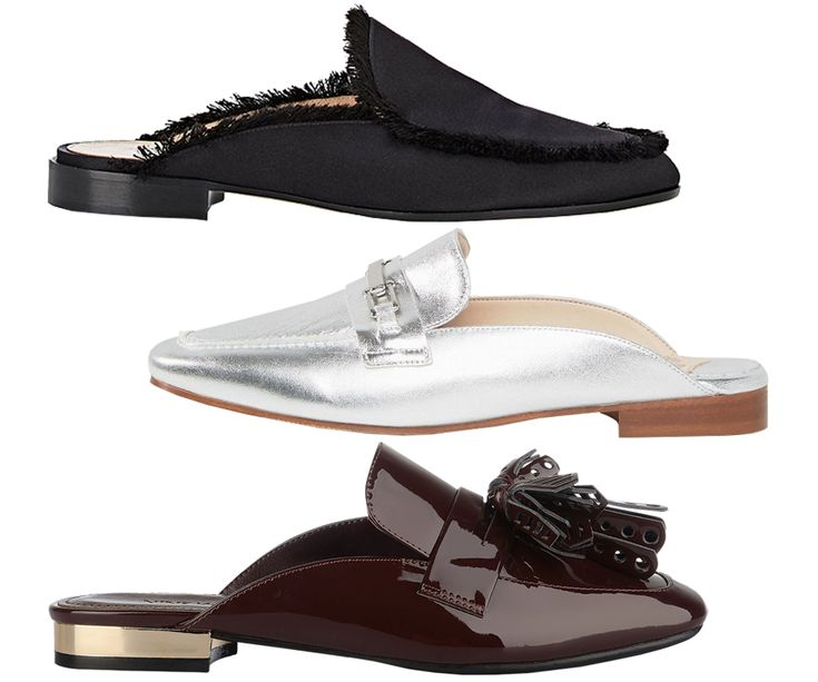The 5 Loafer Styles You'll Want to Wear This Fall - Backless from InStyle.com