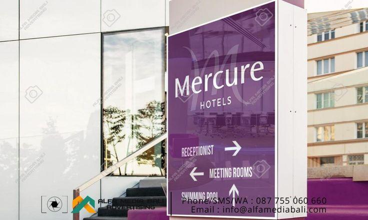 Neon box Acrylic Mercure hotels | Alfa Media Bali