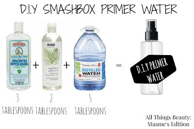 DO IT YOURSELF | SMASHBOX PHOTO FINISH PRIMER WATER - All Things Beauty: Maame's Edition