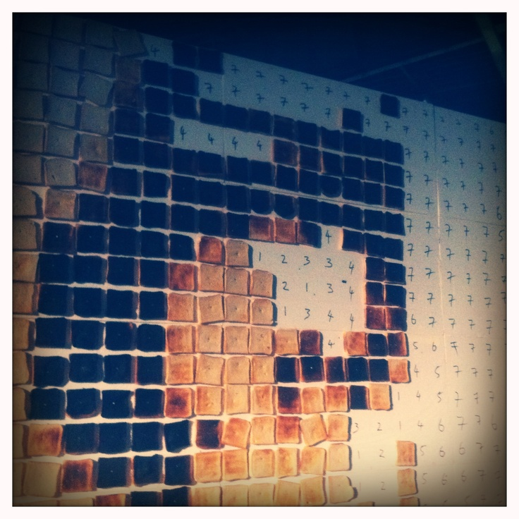Toast art @ Berlin Festival '11