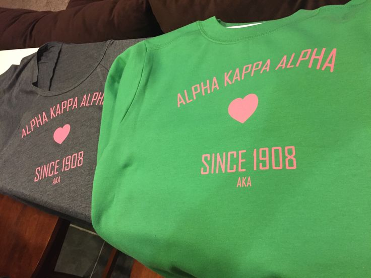 AKA Love sweatshirt will be on sale at the #alphamuomega Founders Day celebration on 2/20/2016.  We made just a few gray flowy tees as well...if they are a hit we will add them to the roster!