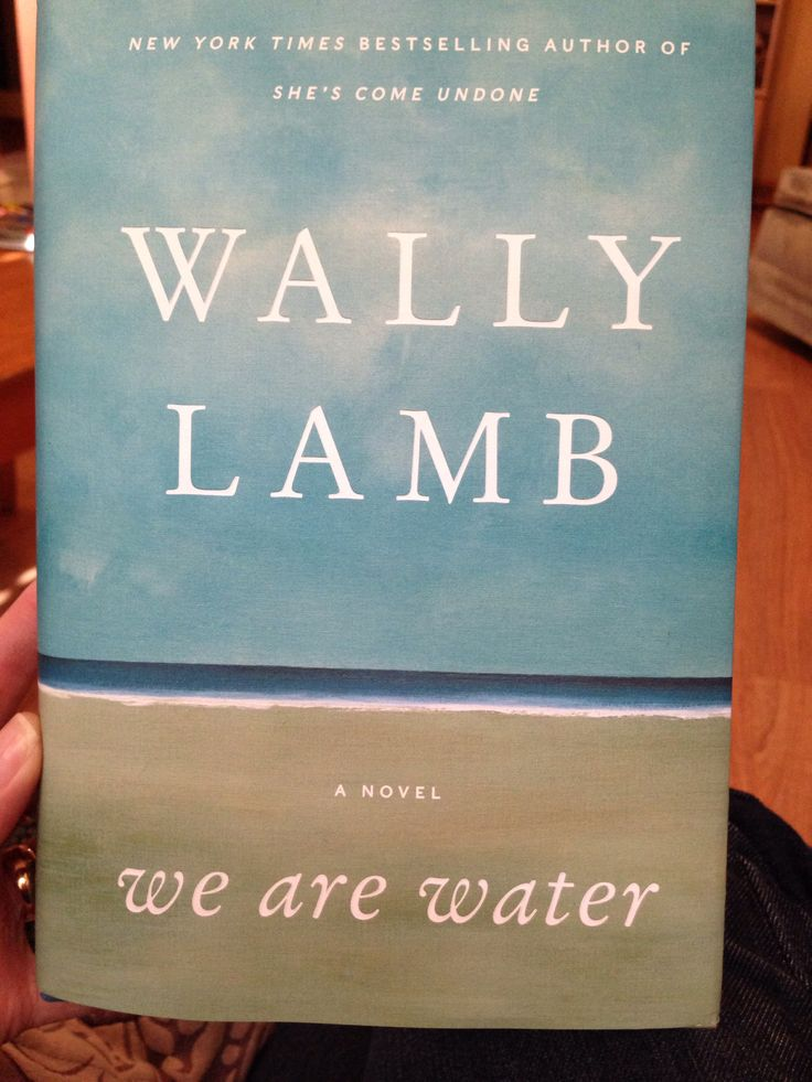 We are water.  Just starting to read this.