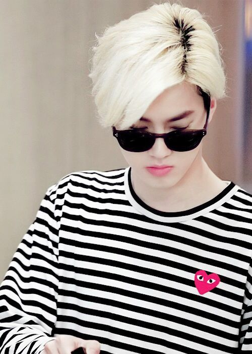 suho blonde hair | EXO| Suho (Kim Joon Myeon)
