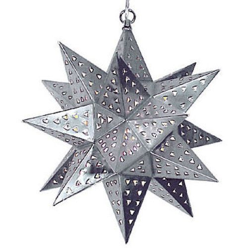 Awesome Light Shining Through Natural Punched Tin Star Lights Creates Beautiful  Effect, From Indeed Decor,