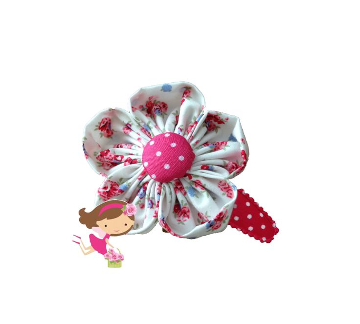 Handmade Hair Clips- www.flowerfairyboutique.nl