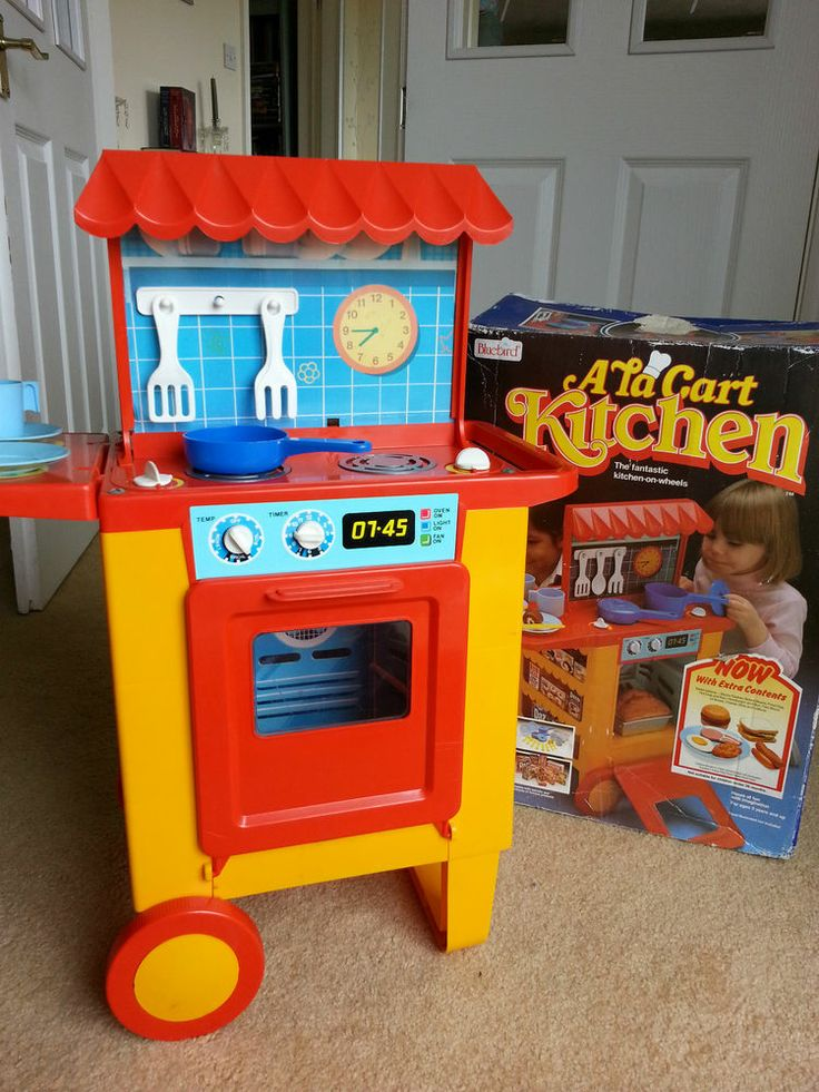 Blue Bird Vintage Ala Cart Kitchen Vintage set with the box! - see pics