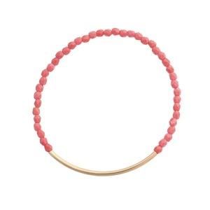 pink gold bar bracelet    #simple #jewelry #bracelets #fashion #accessories