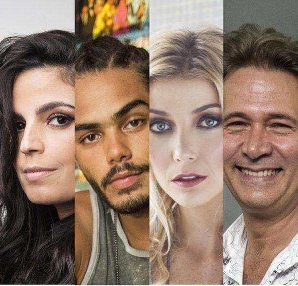 'Domingão do Faustão' -  Emanuelle Araújo, Enzo Romani, Luiza Possi e Nelson Freitas estreiam no 'Show dos Famosos'