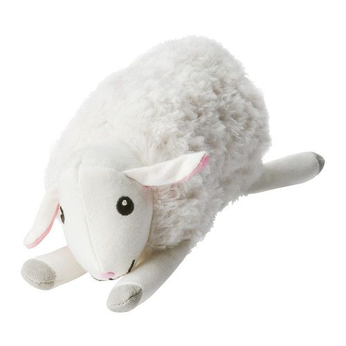 IKEA - LEKA, Musical toy, sheep, , Stimulates a baby's sight, hearing and sense of touch.Low sound level for baby's sensitive ears.