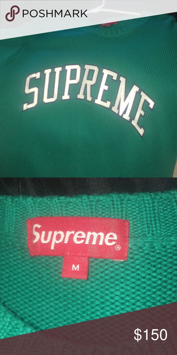 Supreme sweater Supreme sweater Supreme Sweaters Crew & Scoop Necks