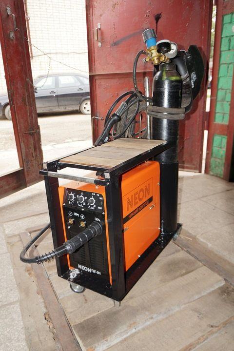 Тележка под Инверторный Сварочный Полуавтомат NEON ПДГ-201